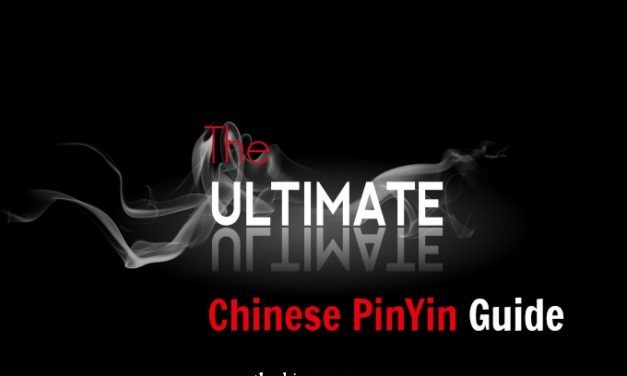 The Ultimate Chinese PinYin Guide| Everything about Learning Chinese PinYin